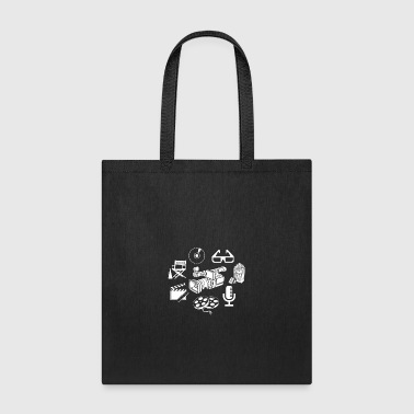 Filming Filmmaker Shirt - Tote Bag