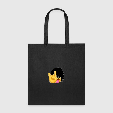 Emo-ji Rock On Tee - Tote Bag