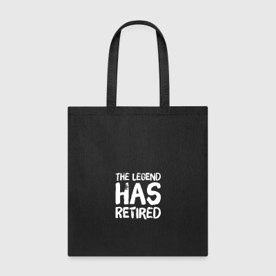 The legend has retired - Tote Bag