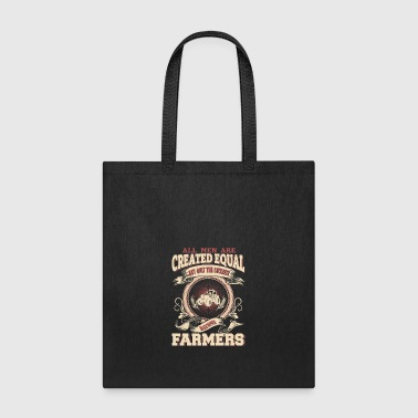 The Luckiest Men Become Farmers - Tote Bag