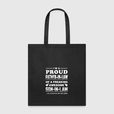 PROUD FATHER IN LAW SON - Tote Bag