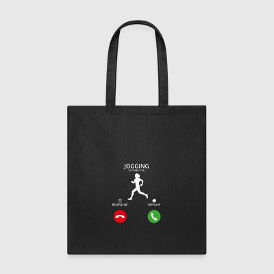Call Mobile Anruf running jogging - Tote Bag