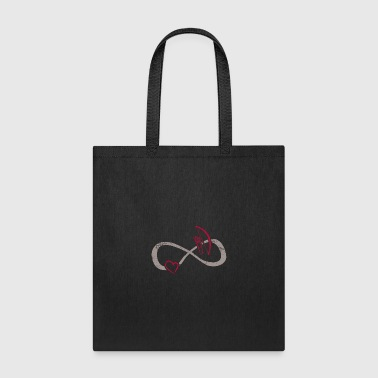 Infinite Love ∞ I Love Archery ∞ Bowing - Tote Bag