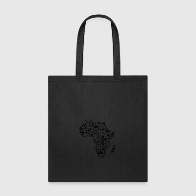 Abstract African Continent - Tote Bag