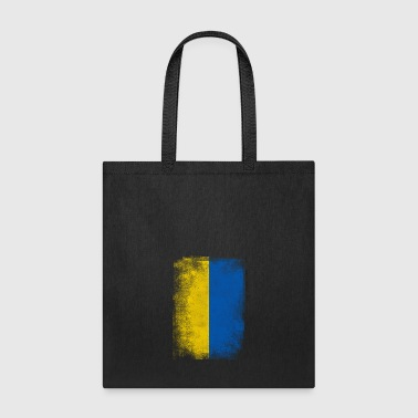Ukraine Flag Proud Ukranian Vintage Distressed - Tote Bag