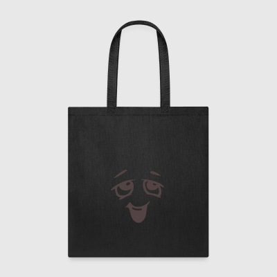 Relaxed face - Emotional face - Tote Bag
