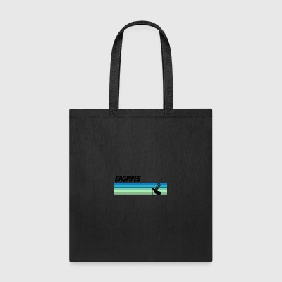 Retro Bagpipes - Tote Bag