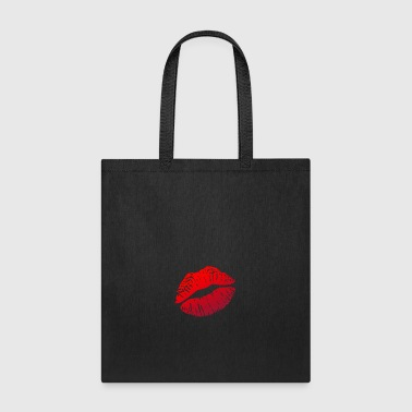 Lipstick Lips Kiss - Tote Bag