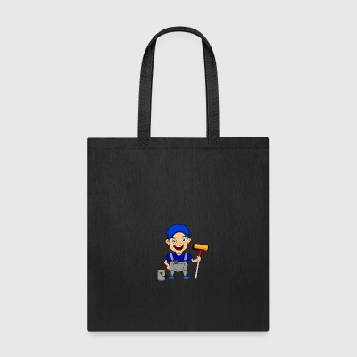 painter artist craftsman artisan - Tote Bag