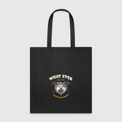 John J 'Leave your mark' - Tote Bag