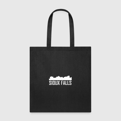 Sioux Falls South Dakota City Skyline - Tote Bag