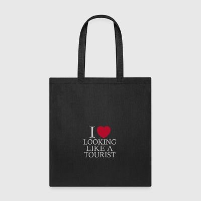 i love looking tourist - Tote Bag