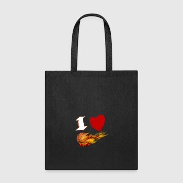 I Love Basketball!! - Tote Bag