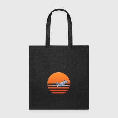 Sunset Jet - Tote Bag