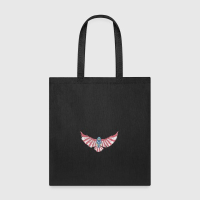 Fly America, Fly Eagle Flag - Tote Bag