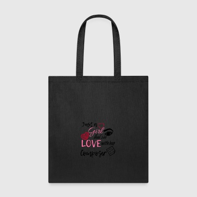 Just a girl that's in love with her composer - Tote Bag