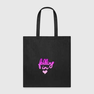 Falling in love - Tote Bag