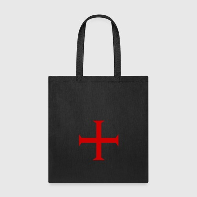Cross of the Knights Templar - Tote Bag