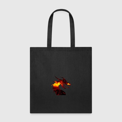 dragon on fire - Tote Bag