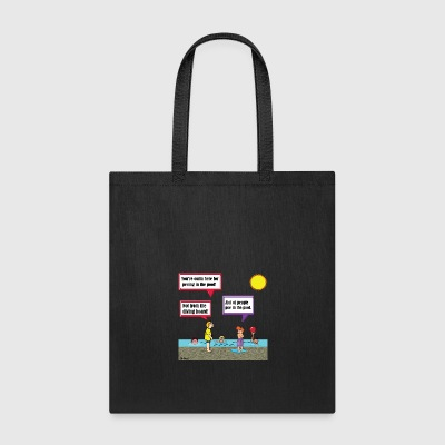 Peeing in the Pool - Tote Bag
