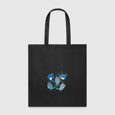 NARWHAL PATTERN CUTE - Tote Bag