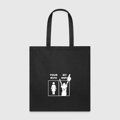 Your Wife My Wife Baseball - Tote Bag