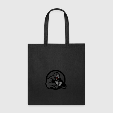 Gorillas Screaming - Tote Bag