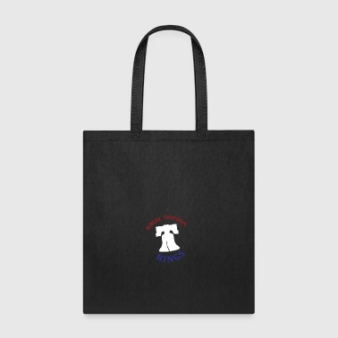 Freedom Rings - Color - Tote Bag