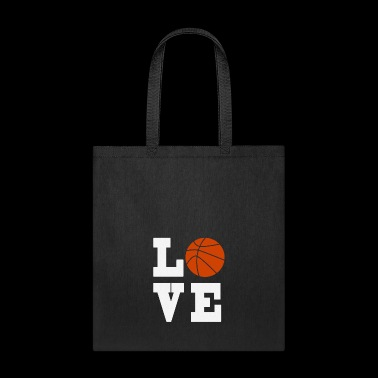 LOVE BASKETBALL - Tote Bag