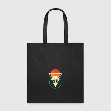 Nature Geometric, Sun Tree Geometric - Tote Bag