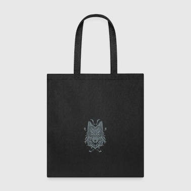 Wolf, Wolf Art, Wolf Drawing - Tote Bag