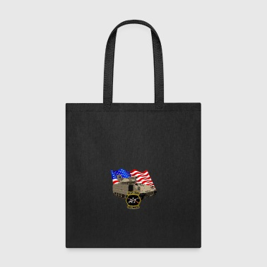 Bradley Fighting Vehicle Flag Logo - Tote Bag