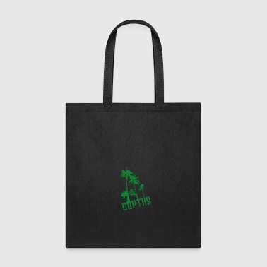 DEPTHS Palm trees - Tote Bag