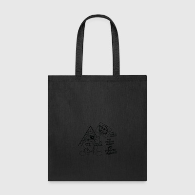 Picket_Sign_Shirt - Tote Bag
