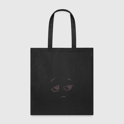 Bored face emotion - Tote Bag