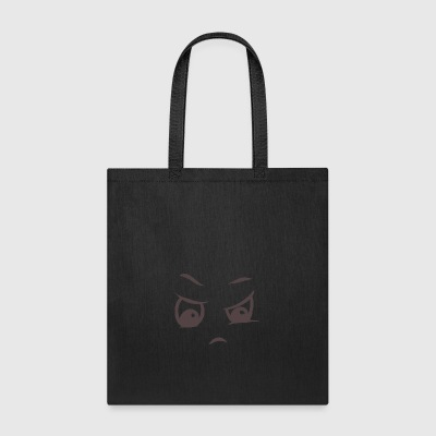 Angry face on your t-shirt - Tote Bag
