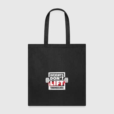 Weights - Tote Bag