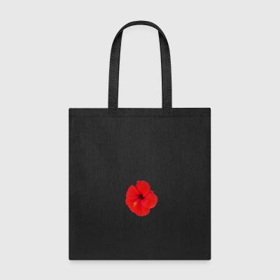 red hibiscus - Tote Bag