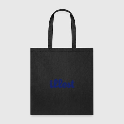 Illest - W Design (Navy Blue) - Tote Bag