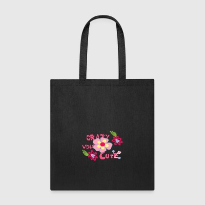 crazy cute - Tote Bag