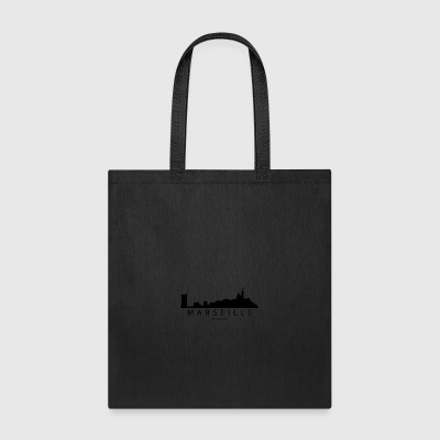 Marseille France Skyline - Tote Bag