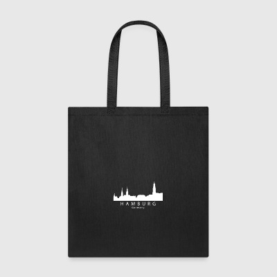 Hamburg Germany Skyline - Tote Bag