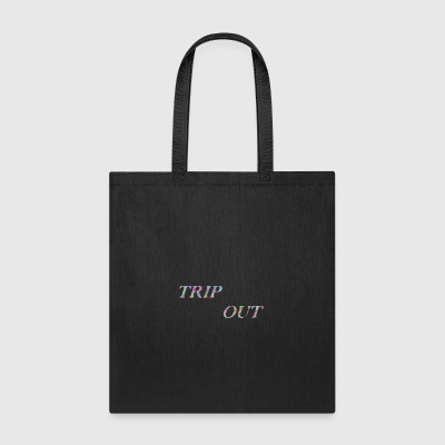 TRIP OUT TIE DYE - Tote Bag