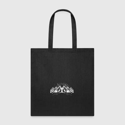 Big white snow mountain - Tote Bag
