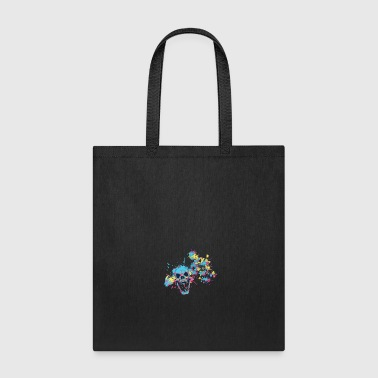 COLORED SKULL - Tote Bag