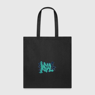 ideal_graffiti_blue - Tote Bag