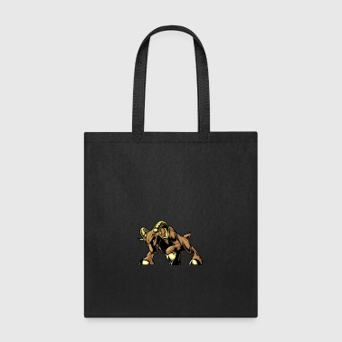 angry_attacking_coat - Tote Bag