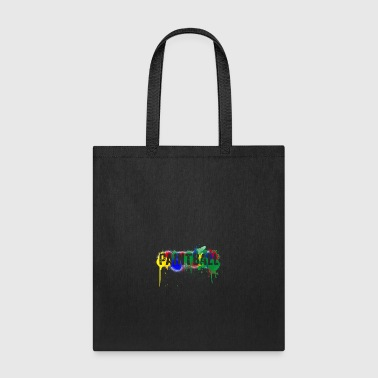color paintball - Tote Bag