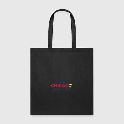Chicago Beach Volleyball B - Tote Bag