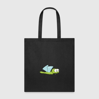 Funny Insect Bee Flying - Tote Bag